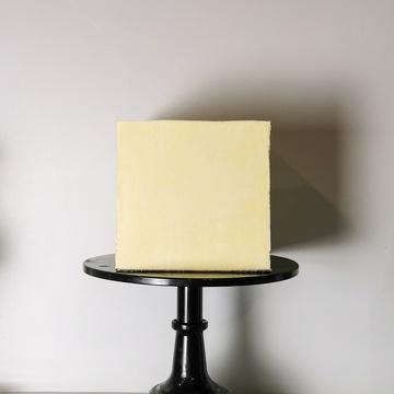 Gâteau carré moderne