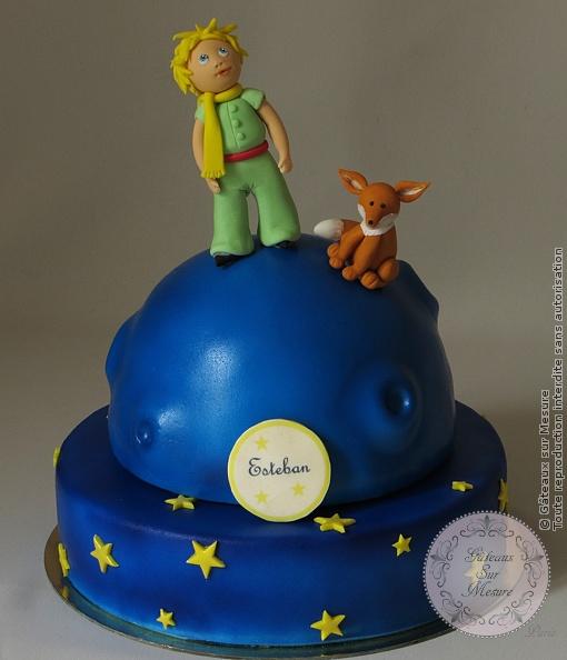 Gâteau Petit Prince   Gateaux sur Mesure Paris - Formations Cake Design, Ateliers pâte à sucre