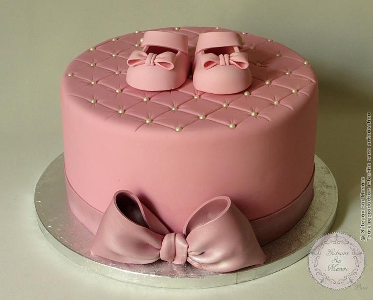 Cake Design , Gâteau de baptême , Gâteaux sur Mesure Paris , atelier pâte à sucre