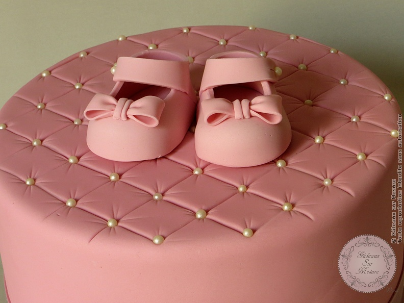 gâteau de baptême | gateaux sur mesure paris - formations cake
