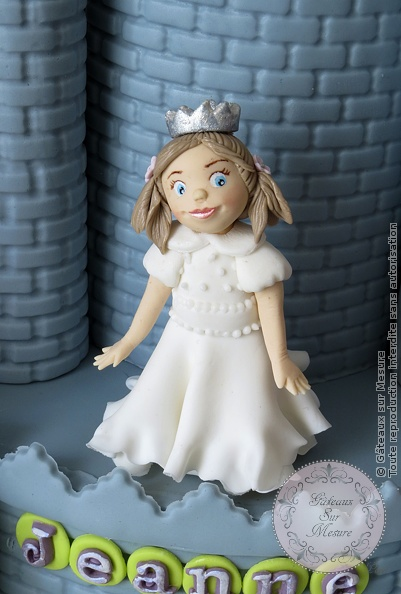 Cake Design - Château de princesse pour un baptême - Gâteaux sur Mesure Paris - atelier pâte à sucre, cake design, cake design Paris, chateau, ecole cake design, figurine, formation, formation cake design, formation professionnelle, France, gateau 3D, gateau design, gateau original, gateau pate a sucre, gateau personnalisé, gateau sur commande, gateau sur mesure, gateaux spectaculaires, modelage, Paris, patisseries decoratives, princesse