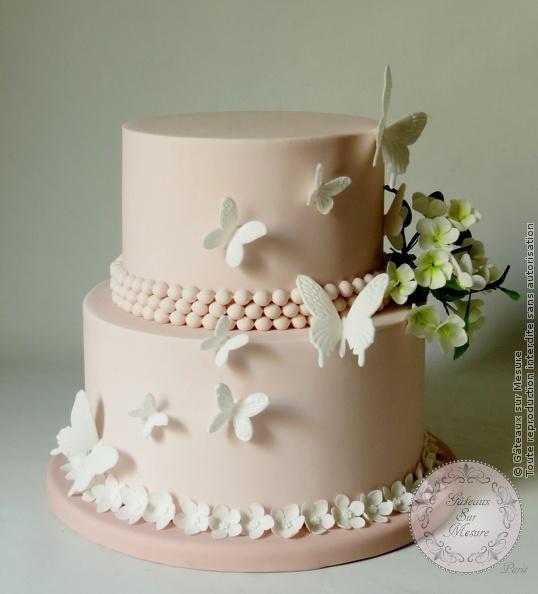 pi 232 ce mont 233 e fleurs et papillons gateaux sur mesure formations cake design ateliers