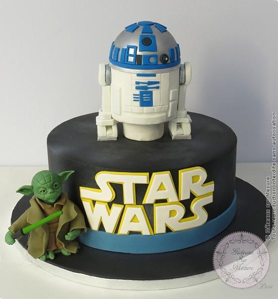 Extrêmement Gâteau Star Wars | Gateaux sur Mesure Paris - Formations Cake  ZV71
