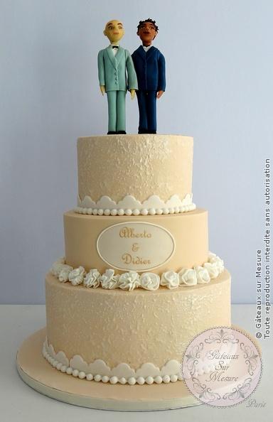 wedding cake ivoire | gateaux sur mesure paris - formations cake