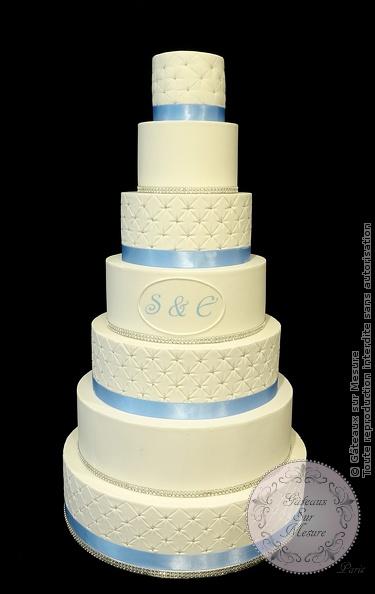 Wedding Cake 7 Etages Gateaux Sur Mesure Paris Formations Cake