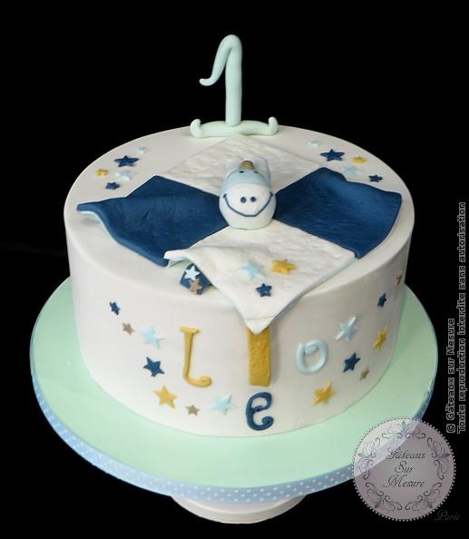Cake Design , Premier Anniversaire Doudou , Gâteaux sur Mesure Paris , cake  decorating school,