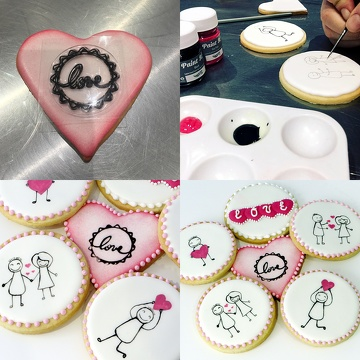 Biscuits Saint-Valentin