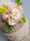 Romantique chic Wedding Cake