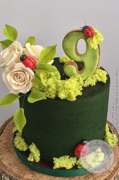 Nature Et Coccinelles Gateaux Sur Mesure Paris Formations Cake