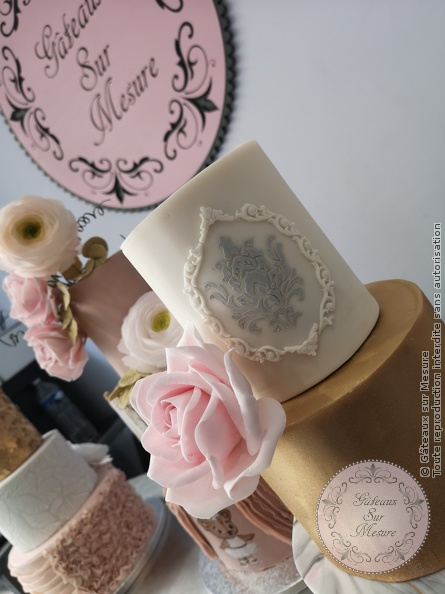 Cake Design - Formation Wedding Cake 5 jours - Gâteaux sur Mesure Paris - cakedesign, formation, formation cake design, formation professionnelle, gateau design, patisserie, wedding, wedding cake