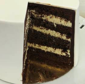 Recette De Garniture Cake Design : Recette: Gateau au chocolat et a la creme a la confiture ...
